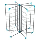 Beldray LA041036 Deluxe Airer, 18 m Drying Space, Turquoise
