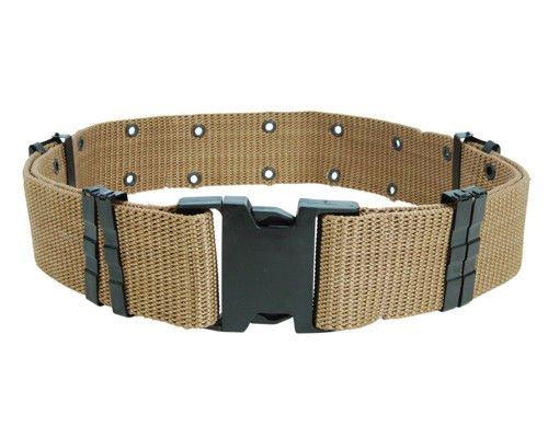 "2,25""Tactical Airsoft Militare Caccia Cambat regolabile in nylon resistente Web uniforme CQB cintura 3colori (Nero, Verde, de), DE"