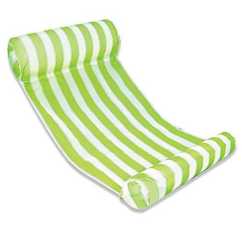 Wasser-taschen Pool Abdeckung (Tofree Wasser Luftmatratze Wasser Hängematte Pool Luftmatratze Schwimmbad Mesh Lounge (Grün))