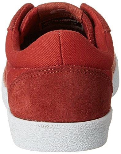 Hummel DEUCE COURT SUMMER, Sneakers basses mixte adulte Rouge (Tandori Spice)
