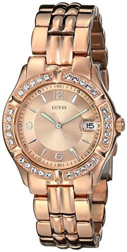 GUESS Watch, Women's Rose Gold Tone Stainless Steel Bracelet 36mm U11069L1