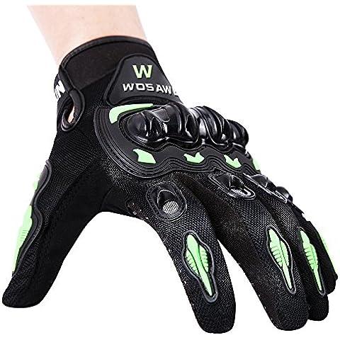 BaiTe Ciclo de los guantes de dedo hombres completa Guantes Montaña Motocicletas luz del silicón del gel del cojín de guantes a prueba de golpes Bicicleta