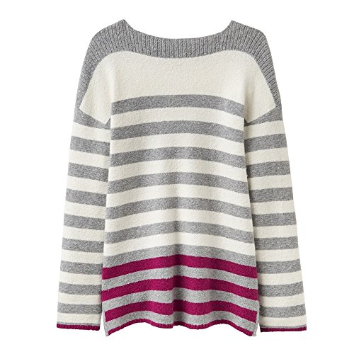 Joules Rowena Boat Neck Striped Knitted Womens Jumper (Y)