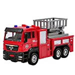 OUYAWEI 1:55 Push and Go Friction Powered Alloy ABS Metal Car Model Construction Trucks Toy Diecast Vehicle for Kids...