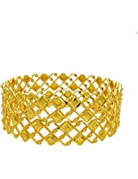 Ethnic Indian Traditional Bollywood Gold Plated Bangle Set Party Wear Jewellery 2*8
