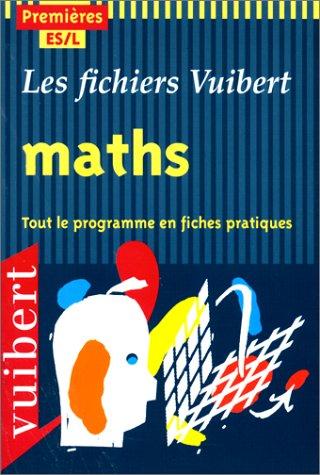 Mathématiques, 1ère ES, L par Lemaire