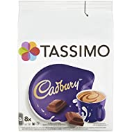 Tassimo Cadbury Hot Chocolate Drink (Pack of 5, Total 40 pods, 40 servings)