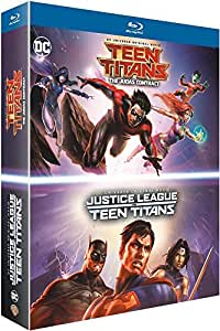 La Ligue des justiciers vs les Teen Titans + Teen Titans: The Judas Contract [Blu-ray]