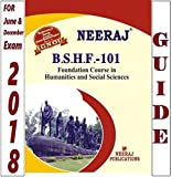 #1: BSHF101-Foundation Course In Humanities & Social Sciences (Ignou Help Book For BSHF-101 In English Medium)