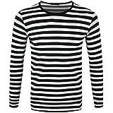 suchergebnis auf f r schwarz wei gestreiftes shirt. Black Bedroom Furniture Sets. Home Design Ideas