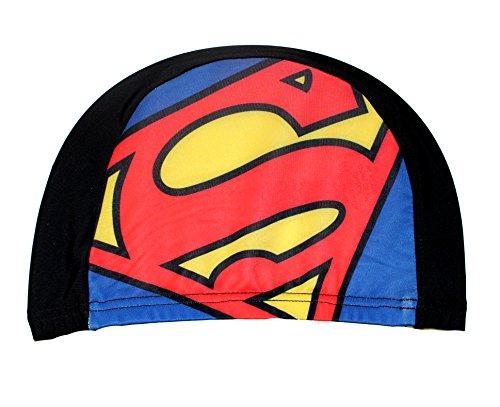DC Superman Badekappe für Jungen (Schwarz)