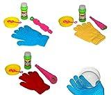 Cool Bubbles 3X Magische Seifenblasen inkl.Handschuh Liquid Seifenschale