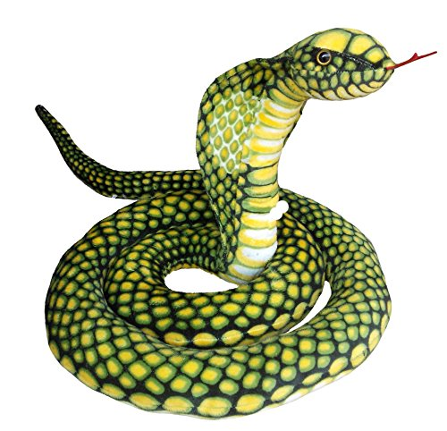 peigee-250cm-giant-plush-python-toy-soft-stuffed-green-cobra-snake-animal-toys-novelty-gift-for-kids
