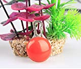 Coperchio Bone Lovely Spherical-Shaped LED Pet Luce Ciondolo Dog Tag Ciondolo ( Rosso )