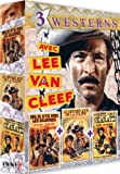 3 westerns avec Lee Van Cleef (3 DVD)