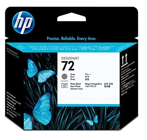 HP 72 Tête d'impression d'origine Photo Gris et Noir