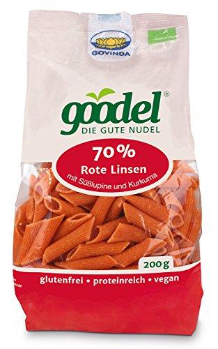 Govinda Bio Goodel ? Die gute Nudel ?Rote Linse-Lupine?, 200 g