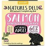 Natures Deli Schalen für Hunde, Truthahn und Hühner, aus Weide und Gluten, 400 g, 14 Stück