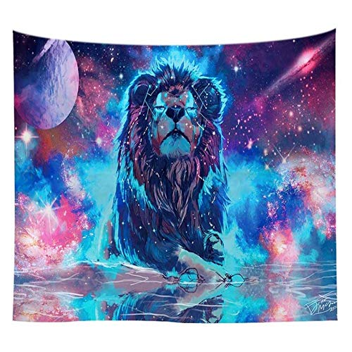 zki Galaxy Tapestry Lion Tapestry Tappetino Yoga Tovaglia Wallpaper Art Tapestry Bohemian Abstract Tapestry Beach Towel Opere dArte 76 150x230