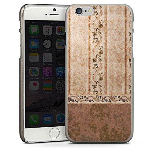 Apple iPhone 5s Housse étui coque protection Rétro Mur Papier peint CasDur anthracite clair