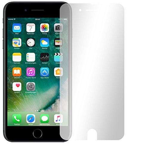 4 x Slabo Displayschutzfolie für iPhone 7 / iPhone 8 Displayfolie Schutzfolie Folie Zubehör (verkleinerte Folien, aufgrund der Wölbung des Displays)