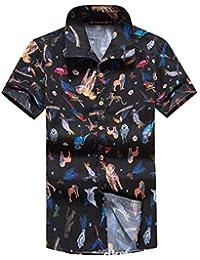Ultimo camicia uomo Amazon lino it mese Abbigliamento qOwIWURxCn