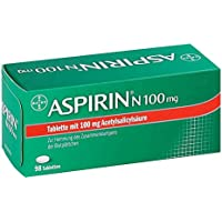 Aspirin N 100 mg Tabletten, 98 St. preisvergleich bei billige-tabletten.eu