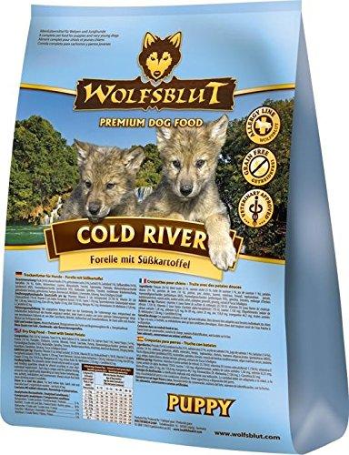 Wolfsblut Cold River PUPPY Trockenfutter für Welpen mit Forelle und Süßkartoffel - 2 kg