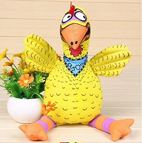et Spielzeug beständig Biss Leinwand tragen goldenen Ton Spielzeug Spielzeug Hundebisse (Ton Ton Chicken)