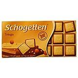 Tafelschokolade Schogetten Trumpf Trilogia 100g
