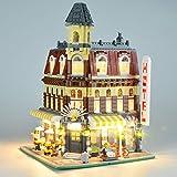 Hima - Kit di luci LED per Lego 10182, il kit di luci a LED compatibile con Creator City Street Cafe Building Blocks modello, non include il modello Lego
