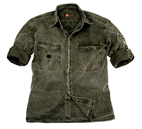La chemise Kakadu Traders Toorak, 5S06 Mustard
