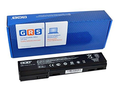 GRS Batteria per HP EliteBook 8560p, 8460p, HP ProBook 6560b, 6460b, 6360b, Compatibile: ST09, 628369-421, BB09, CC06, CC09, CC06XL, QK640AA, QK643AA, QK642AA, HSTNN-OB2H, 4400mAh, 10.8V