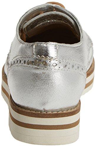 COOLWAY Avocat, chaussures Derby femme Argenté