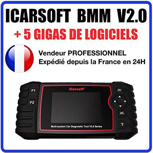 Preisvergleich Produktbild MISTER DIAGNOSTIC Diagnose OBD OBD2 iCarsoft BMM V2.0 - kompatibel mit BMW & Mini