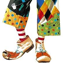 Video Delta - Scarpe da Clown in Lattice di Gomma