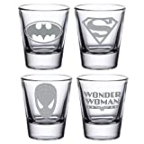 Best Man Shot Glass - YaYa cafe Engraved Superman Super Heroes Tequila, Vodka Review