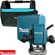 Makita RP0900X Heavy Duty 1/4 or 3/8in Plunge Router 240V With Tote Bag