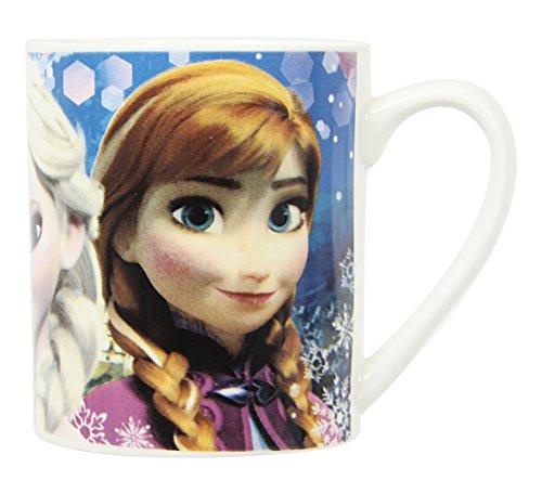 NOVASTYL 8011668 La Reine des Neiges Coffret Mug Droit Porcelaine Bleu 33 cl