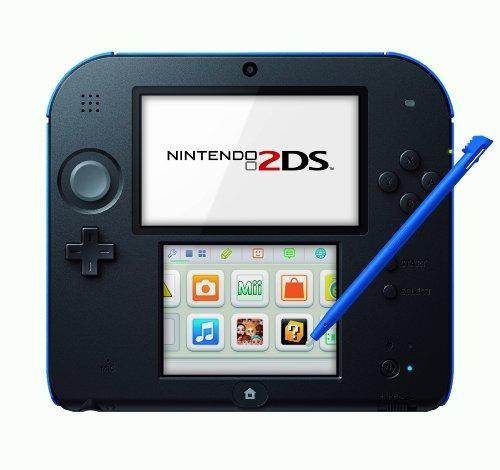 Nintendo 2DS - Consola, Color Azul Y Negro
