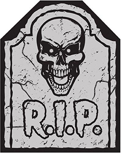 ausgefallenes Halloween Gruselig Horror Party Tisch Dekoration Grabstein Stuhlbezug