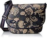 Oilily Damen Jolly Diaperbag Lhf Rucksackhandtasche, Blau (Dark Blue), 14x29x40 cm