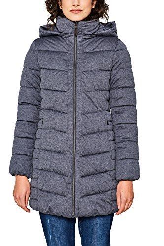 ESPRIT Damen Mantel 018EE1G008, Grau (Grey 030), Small