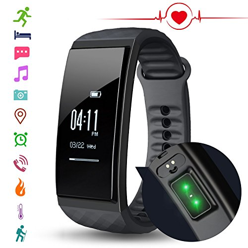 CUBOT S1 Fitness Tracker Pulsera Monitor Ritmo Cardíaco