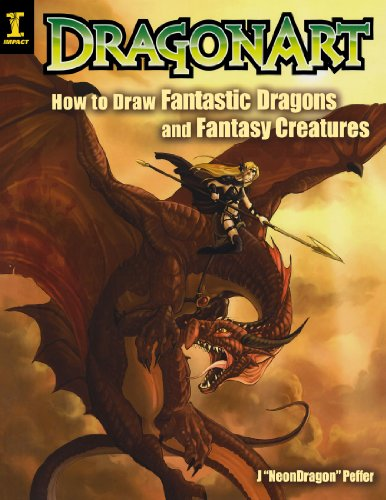 DragonArt: How to Draw Fantastic Dragons and Fantasy Creatures por Jessica 'Neon Dragon' Peffer