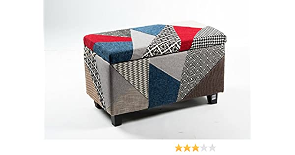 Way home store pouf contenitore patchwork cm amazon