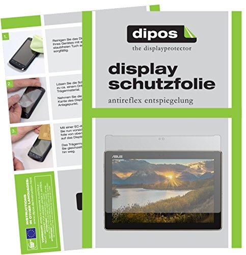 dipos I 2X Schutzfolie matt passend für Asus ZenPad 10 (Z301 ML/MFL) Folie Bildschirmschutzfolie