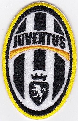 Patch juventus calcio vintage replica sport serie a cm 5 x 8 toppa ricamo -995