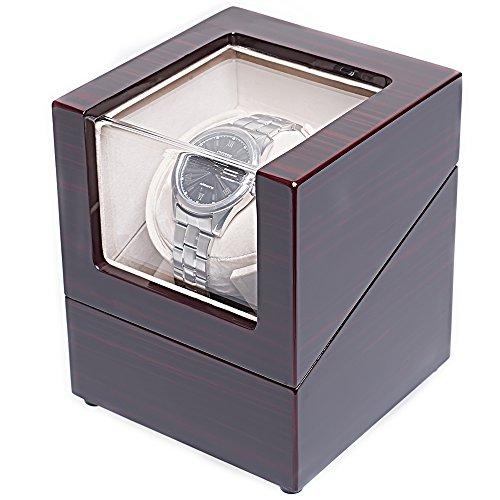 [100% Handgemacht] CHIYODA Uhrenbeweger für 1 Uhr Watch Winder mit Mabuchi Motor - 6
