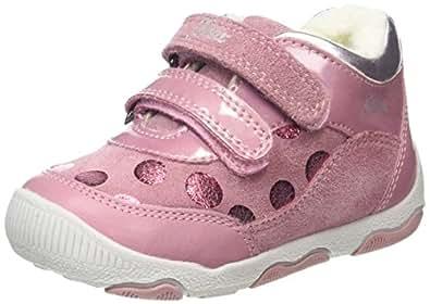 Geox Baby Mädchen B New Balu' Girl A Sneaker, Pink (DK Pink), 23 EU